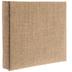 Burlap Post Bound Scrapbook Album - 6