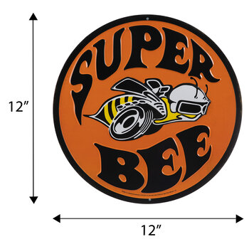 Super Bee Metal Sign