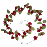 Red Mini Rose Garland
