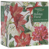 Holiday Floral Shea Butter Soap Bar