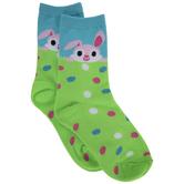 Bunny & Eggs Crew Socks