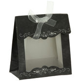 Black Chalkboard Favor Boxes