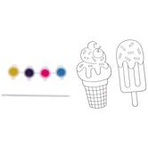 Ice Cream Suncatchers Craft Kit