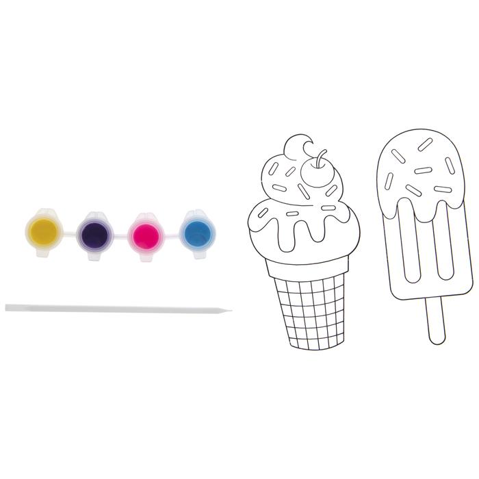 Ice Cream Suncatcher DIY Craft kit for 1 Home DIY Suncatcher kit for 1