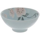 Blue & Pink Flower Bowl