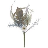 Beige & Gray Mixed Grass Pick