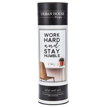 Work Hard & Stay Humble Vinyl Wall Art