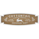 Cottontail Confectionery Wood Wall Decor