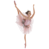 Ballerina In Pink Tutu Ornament