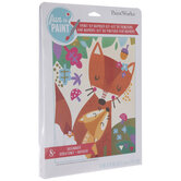 Mama Fox Paint By Number Kit