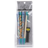 0.7 Bee, Sloth & Yarn Floral Mechanical Pencils - 4 Piece Set