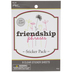 Friendship Phrases Stickers