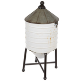 Silo Metal Container