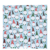 "Christmas Gnomes Scrapbook Paper - 12"" x 12"""