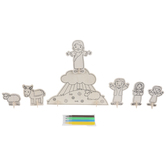 He Is Risen Wood Craft Kit