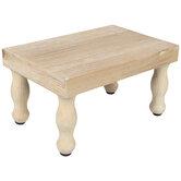 Rectangle Wood Riser