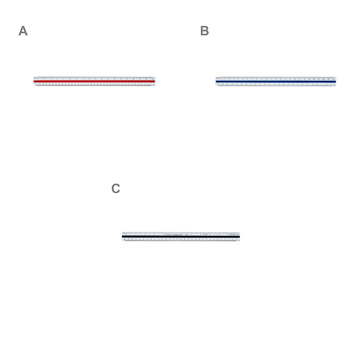 Pacific Arc Triangular Engineer Scale