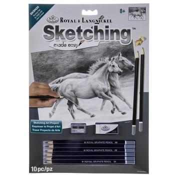 Running Free Sketching Made Easy Kit