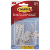 Command Small Wire Hook Strips