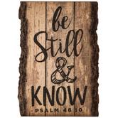 Psalm 46:10 Wood Magnet