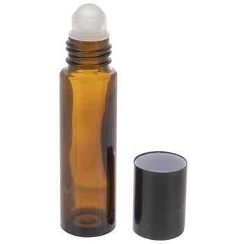Amber Glass Roller Bottles