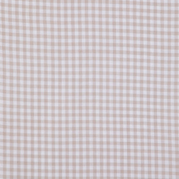 Gray Gingham Homespun Cotton Calico Fabric