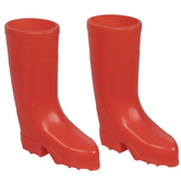 Miniature Red Rain Boots