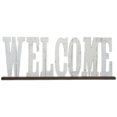 Welcome Wood Decor