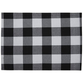 Black & White Buffalo Check Placemats