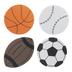Sport Ball Foam Stickers