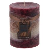 Cinnamon Bark Pillar Candle
