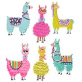 Llama Puffy Stickers