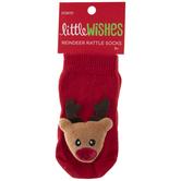 Reindeer Rattle Socks