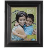 """Black & Silver Trim Wood Wall Frame - 10"""" x 13"""""""