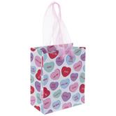 Conversation Hearts Gift Bag