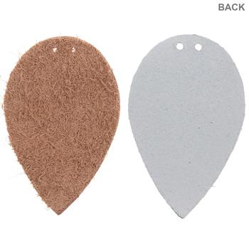 Leaf Leather Earring Blanks
