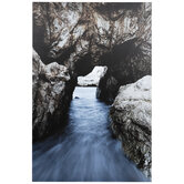 Water Cave Canvas Wall Decor