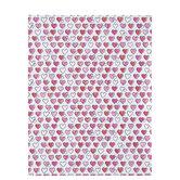 "Sketchy Hearts Scrapbook Paper - 8 1/2"" x 11"""