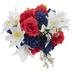 Red, White & Blue Lily Mix Bush