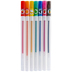Fruit-Scented Glitter Pens - 7 Piece Set