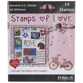 Stamps Of Love Postage Stamps