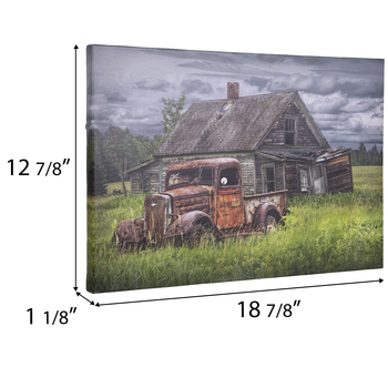 Farmhouse & Truck Canvas Wall Decor
