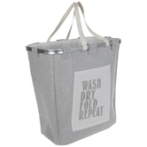 Wash Dry Fold Repeat Laundry Basket