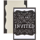 You Are Invited Chalk Invitations