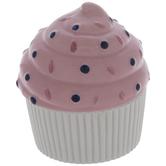 Pink & White Cupcake Jewelry Box