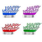 Happy New Year Paper Tiaras