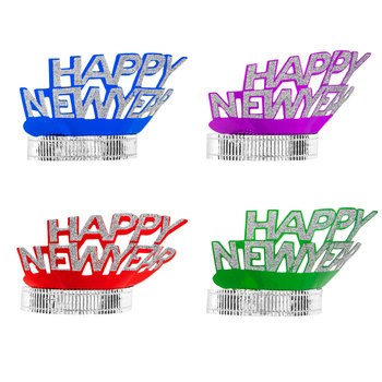 Happy New Year Paper Tiaras