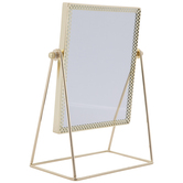 Gold Metal Mirror
