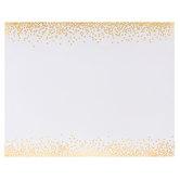 """Gold Foil Confetti Dot Poster Board - 22"""" x 28"""""""