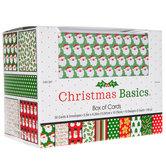 Christmas Basics Box Of Cards